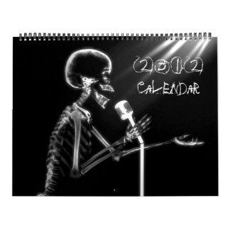 X-Ray Vision Skeleton Collection 2012 Calendar