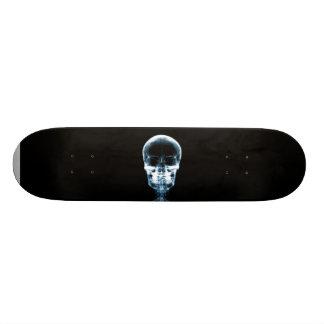 X-RAY VISION SKELETON SKULL - BLUE SKATEBOARD