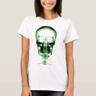 X-RAY VISION SKELETON SKULL - GREEN T-Shirt