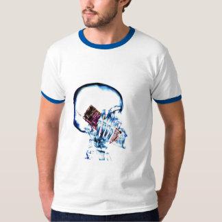 X-RAY VISION SKELETON SKULL ON PHONE - ORIG. NEG T-Shirt