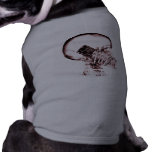 X-RAY VISION SKELETON SKULL ON PHONE - RED DOGGIE TEE