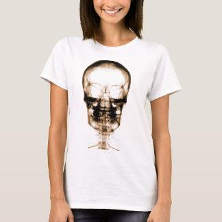 X-RAY VISION SKELETON SKULL - ORANGE T-Shirt