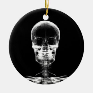 X-RAY VISION SKELETON SKULL - ORIGINAL CERAMIC ORNAMENT