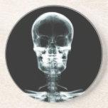 X-RAY VISION SKELETON SKULL - ORIGINAL BEVERAGE COASTERS