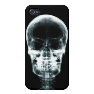 X-RAY VISION SKELETON SKULL - ORIGINAL COVERS FOR iPhone 4