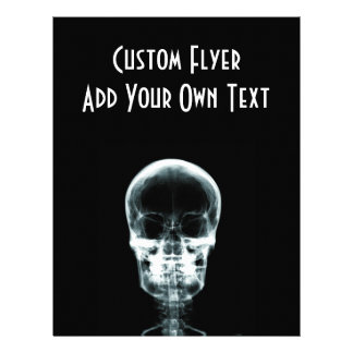 X-RAY VISION SKELETON SKULL - ORIGINAL FLYER
