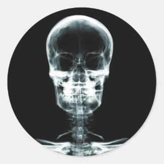 X-RAY VISION SKELETON SKULL - ORIGINAL STICKER