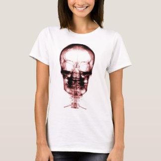 X-RAY VISION SKELETON SKULL - RED T-Shirt