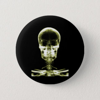 X-RAY VISION SKELETON SKULL - YELLOW BUTTON