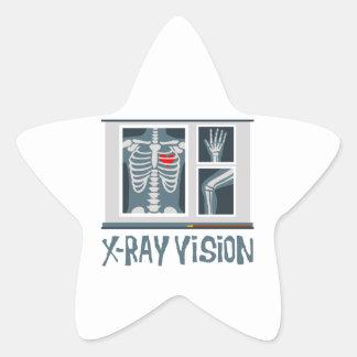 X-Ray Vision Star Sticker
