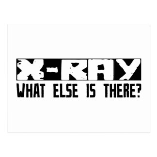 X-Ray What Else Is There? Postcard
