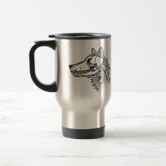 X-ray Wolf Mug