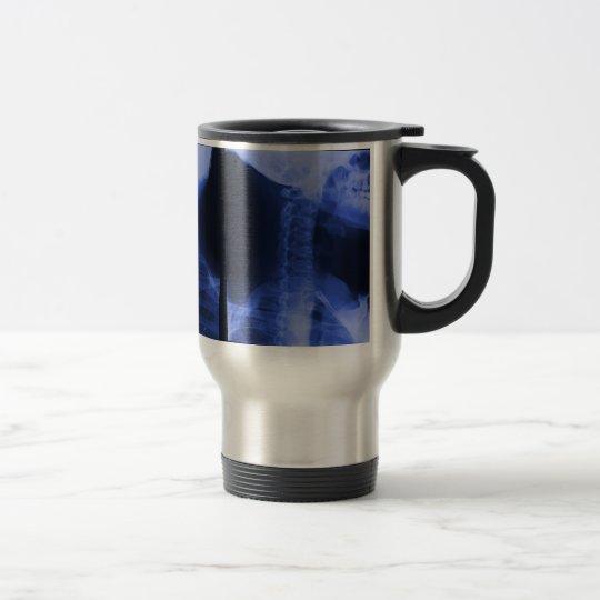 X-rayed 2 - Electromagnetic Blue Travel Mug