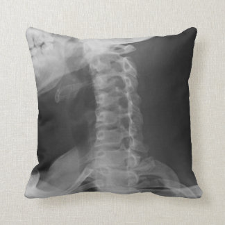 X-Rayed 2 (Original) Throw Pillow