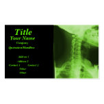 X-rayed 2 - Radioactive Green Business Cards