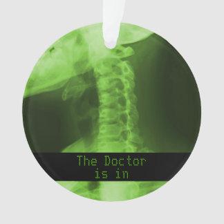 X-Rayed 2 Radioactive Green Ornament