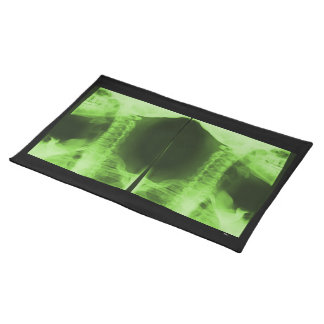 X-rayed 2 - Radioactive Green Placemat