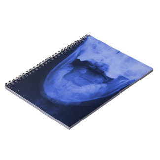 X-rayed 3 - Electromagnetic Blue Notebook