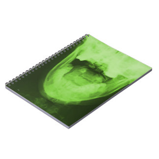 X-rayed 3 - Radioactive Green Notebook
