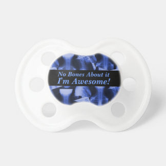 X-Rayed Electromagnetic Blue Pacifier