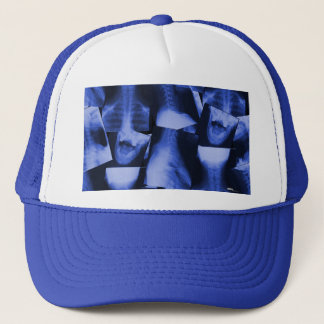 X-rayed - Electromagnetic Blue Trucker Hat