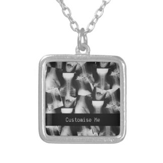 X-Rayed (Original) Silver Plated Necklace