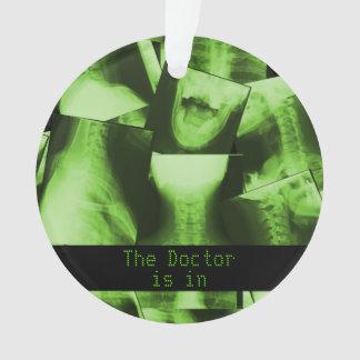 X-Rayed Radioactive Green Ornament