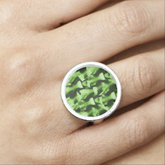 X-Rayed Radioactive Green Photo Rings