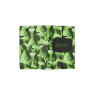 X-Rayed - Radioactive Green Pocket Moleskine Notebook