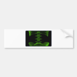 X-rays face bumper sticker