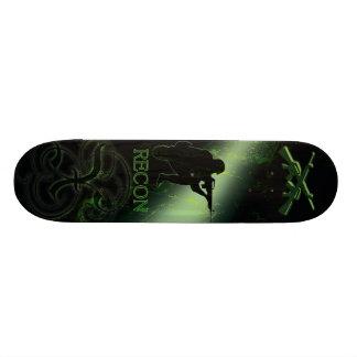 X Recon Green Skate Decks