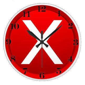X rojo - Ningún/símbolo incorrecto Relojes