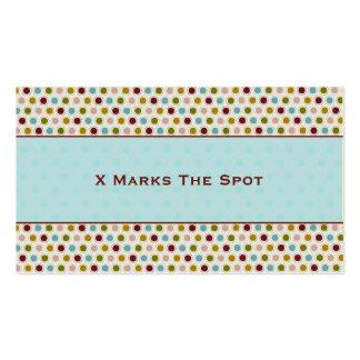 X Spot Business Cards