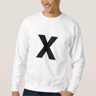 x sweatshirt