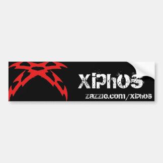 x swordred, bumper sticker
