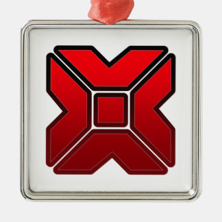 X-Tech Metal Ornament