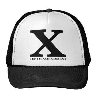X: The Tenth Amendment Hat