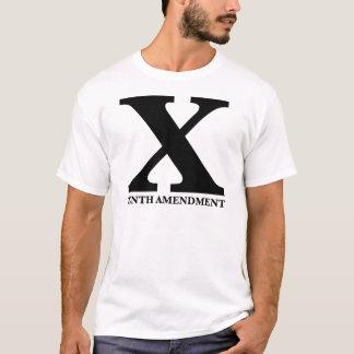 X: The Tenth Amendment T-Shirt