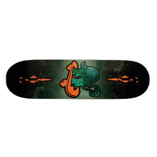 X Turtle Skateboard Deck