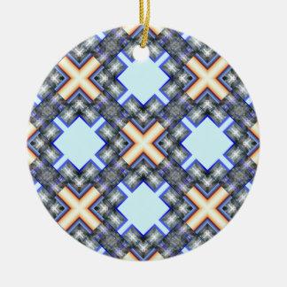 X Waves Big Ornament