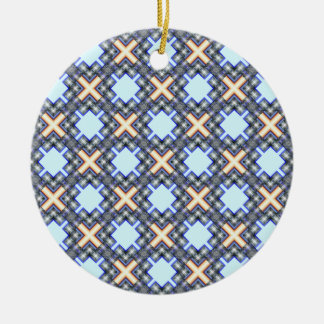 X Waves Small Christmas Ornaments