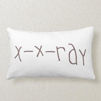 X - x-ray NATO Throw Pillow