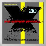 X, Y, X, PROYECTO de JOE TURNER, 210, MYSPACE.COM/ Impresiones