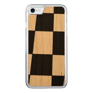 XADREZ PRETO 2 CARVED iPhone 8/7 CASE
