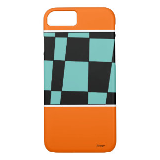 XADREZ PRETO 2 iPhone 8/7 CASE