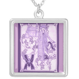 Xanadu Silver Plated Necklace