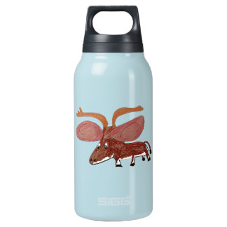 Xander The Moose With Big Ears Insulated Water Bottle
