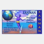 XANMAN~BALANCE! Sticker