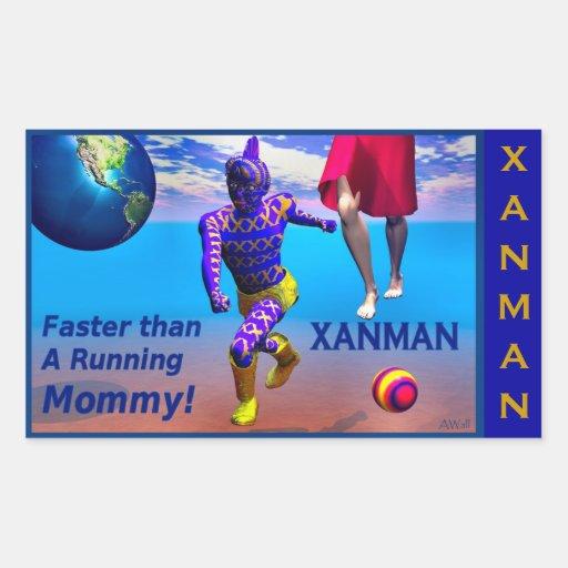 XANMAN~FASTER! Sticker