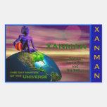 XANMAN~MASTER! Sticker